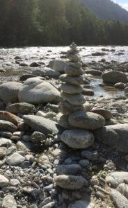 Noch ein Steinturm ...