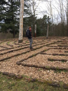 Irgendlink geht im Labyrinth