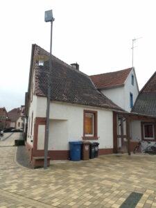 Schräges Haus