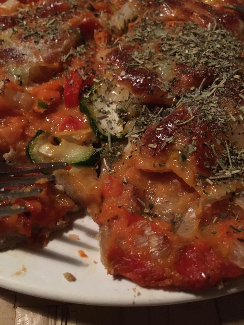 Histamin- und glutenfreie Pizza